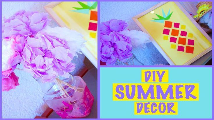 DIY Летний Декор Комнаты Summer Room Decor  Anastescha