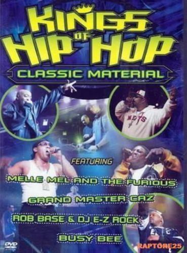 KINGS OF HIP HOP **** DVD *** Region 4 melle mel grand master caz RARE DVD!