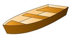 На этой странице чертежи лодки скифа для самостоятельной постройки. Лодка своими руками из фанеры
