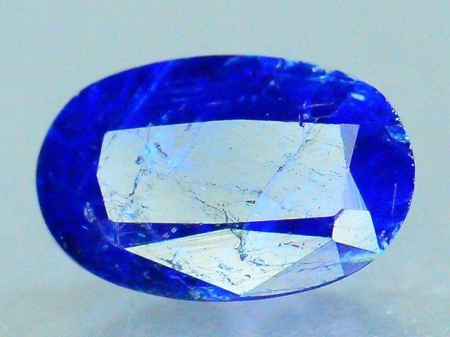 Rare 0.585 ct Natural Hauyne w Pyrite L.8 Collector's Gem