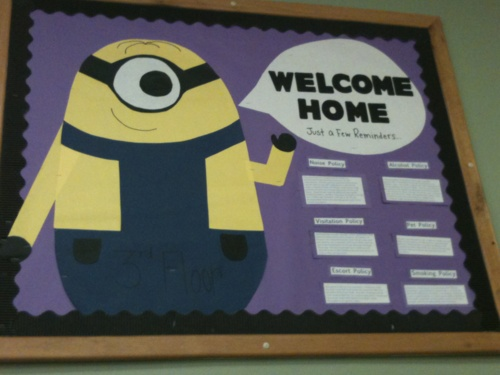 Alwaysanewstart: Welcome Back Bulletin Board. Goes Through Some Of The  Common Policies.