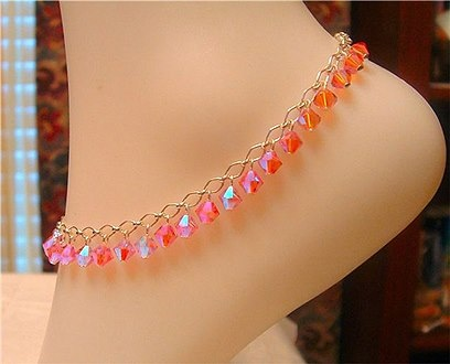 ► ► Beautiful anklets for women