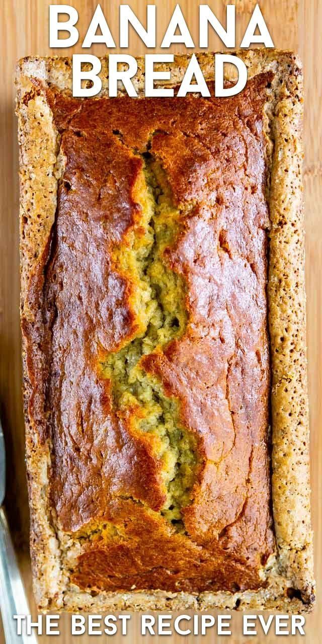 Mom S Best Banana Bread Banana Bread Recipe Moist Best Banana Bread Banana Bread Recipes