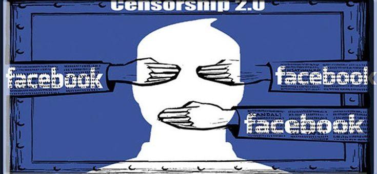 Facebook cenzórként viselkedik a radikális gondolkadókkal. A Liberalistákat pedig kiemeli és támogatja.