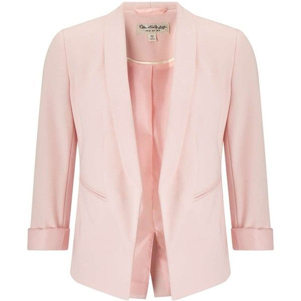Miss Selfridge PETITE Nude Ponte Blazer ($29) ❤ liked on Polyvore featuring outerwear, jackets, blazers, nude, petite, ponte knit jacket, miss selfridge, blazer jacket, nude blazers and petite blazer jackets