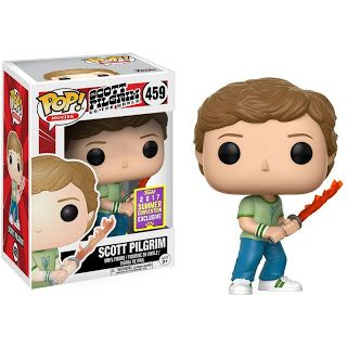 Funko Pop! Movies #459 Scott Pilgrim with Sword of Destiny LE 2000 (SDCC 2017 Exclusive)