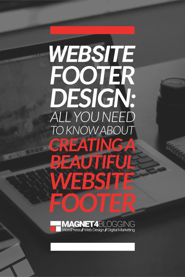 Your website's footer area should not be an afterthought when thinking about designing or redesigning your website. In this post, we share with you 16 things to consider including in your website footer design. via @vanmarciano