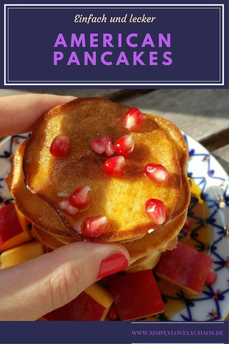 Hier gibt es ein einfaches und leckeres Pancakes Rezept. Ein Frühstück, beliebt bei der ganzen Familie.