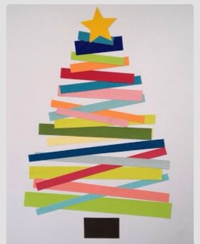 Do in style of Eric Carle for CHRISTMAS