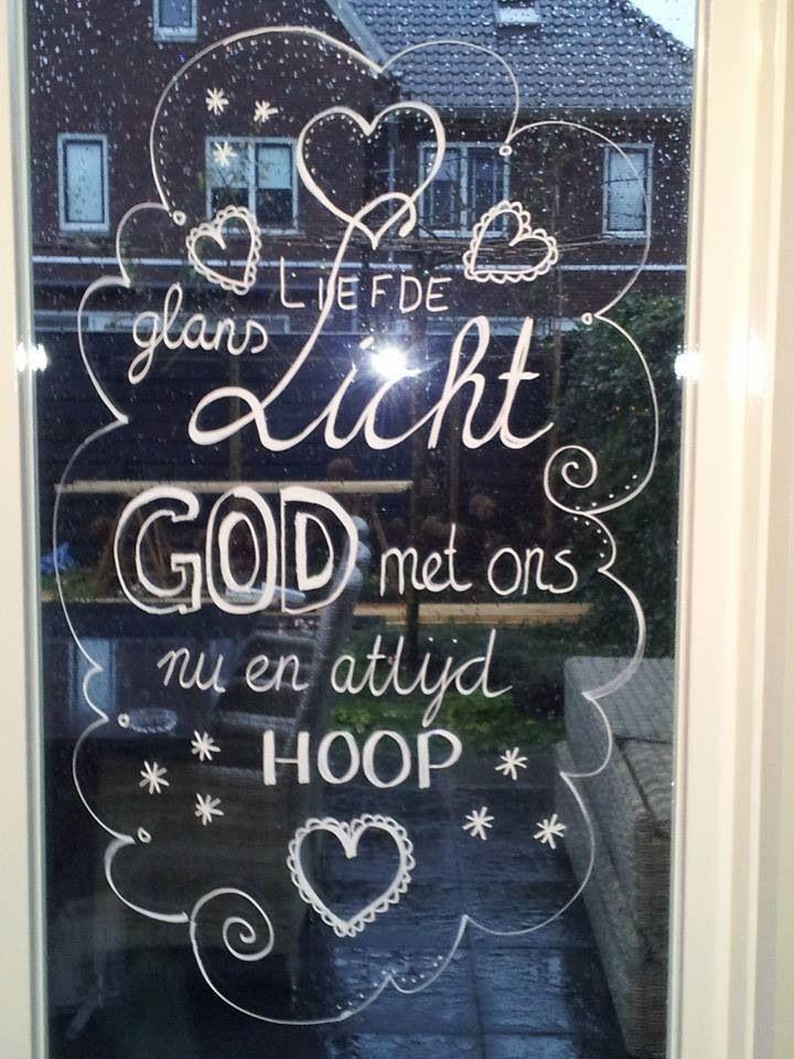 Met een windowmarker maak je mooie ramen!