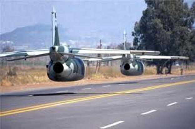 parecen dos IA63 pampa volando algo bajo