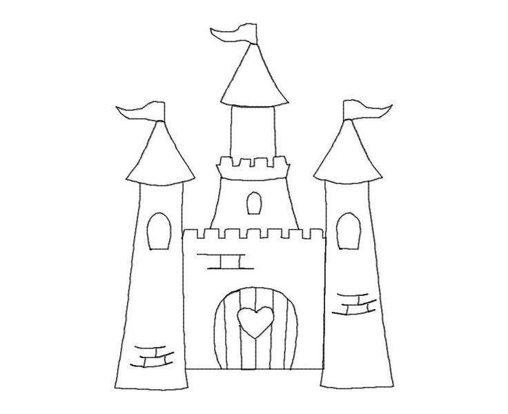 coloring castle - Recherche Google