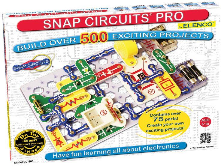 Model: SC-500 - Snap Circuits Pro ® 500 Experiments - www.elenco.com