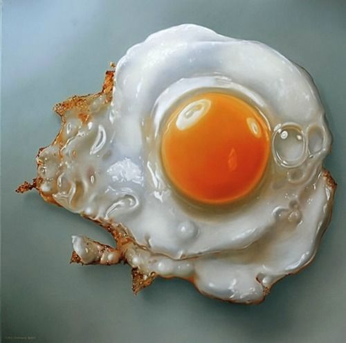 hyper-realistic painting