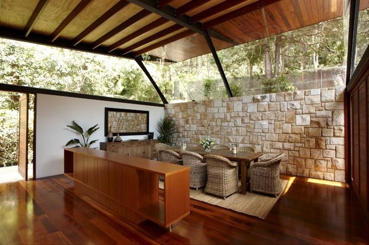 Cottage Point House in Cottage Point, NSW, Australia by Richard Cole Architecture. I like the glass.