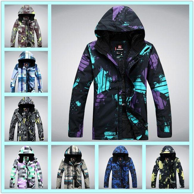 Большой размер 13/14 Q, S лыжные куртки, сноуборд одежда, Мужская сноуборд катание на лыжах куртка Открытый Водонепроницаемый Ветрозащитный Дышащий костюмы
