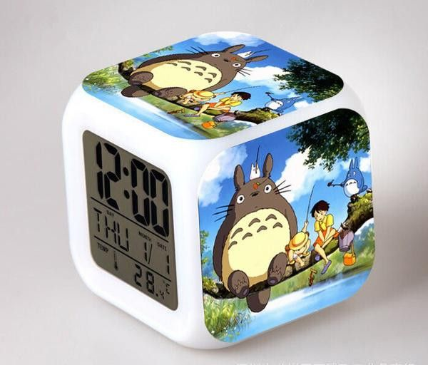 My Neighbor Totoro Anime Digital Alarm Clock