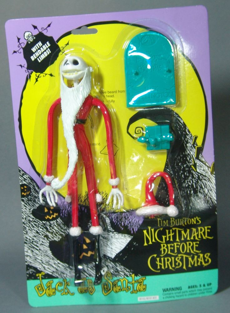 Toys From Hasbro : Hasbro nightmare before christmas jack as santa