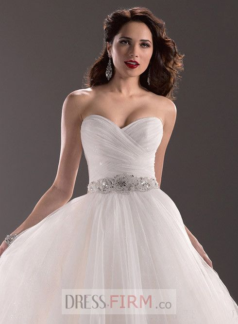 wedding dress with pleated body - Google Search