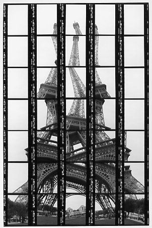Kellner's photos of the Eiffel Tower.  http://www.thomaskellner.com/thomas-kellner/thomas-kellner/the-artist/