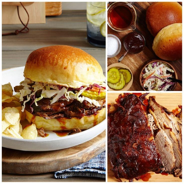 BBQ Brisket Sandwiches - a perfect summertime dinner!