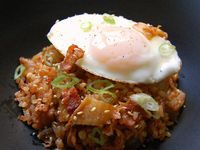 Kimchi Bacon Fried Rice | The Rice is Right! | Pinterest