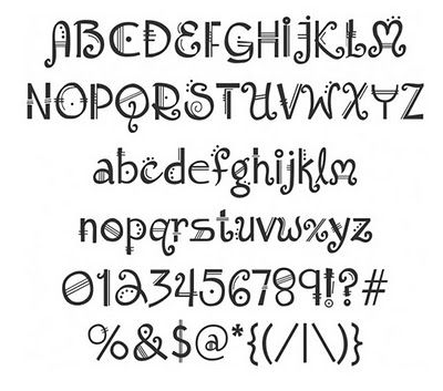 Shadowhouse Creations: Fonts - free and lots of cool ones - this one is Amadeous