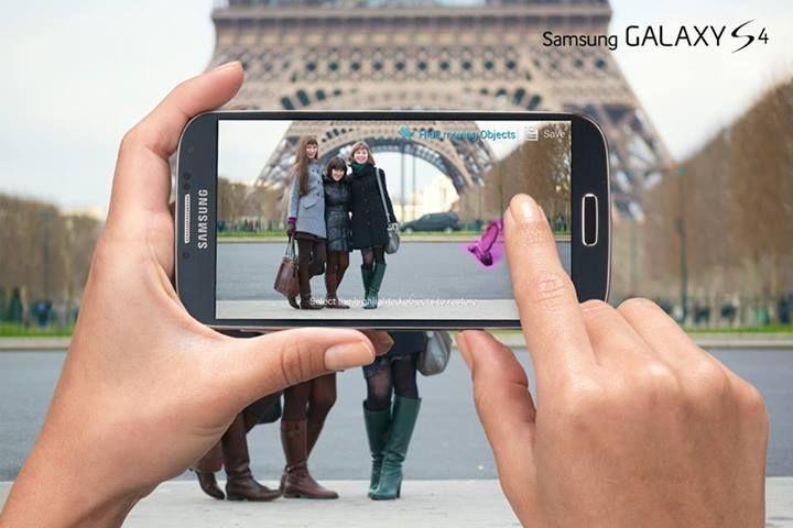 Tu cum faci ca să obții poze perfecte? Încearcă Eraser Mode pe #GalaxyS4