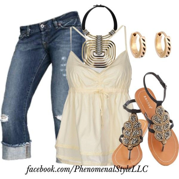 """""""Thinking About Some Summer Fun"""" by konata-phenomenalstyle on Polyvore"""