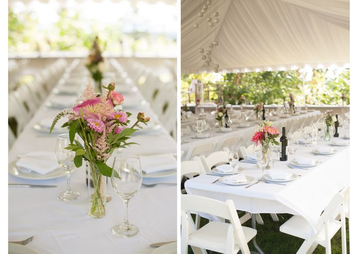 Nice shot of the wedding tent by @jarushabrown