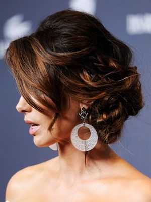 Updo Hairstyles - Formal Celebrity Updos - Good Housekeeping @Jessica Strong  what do you think of this for me?