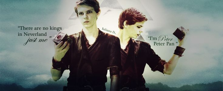 Once upon a time : Peter Pan by Iuliana4711.deviantart.com on @DeviantArt
