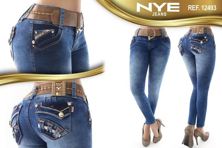 Pantalón colombiano NYE Jeans +Modelos en: http://www.ropadesdecolombia.com/index.php?route=product/category&path=112