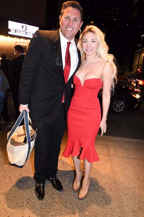 Ben Richman And Andrea Catsimatidis Photo By Rose