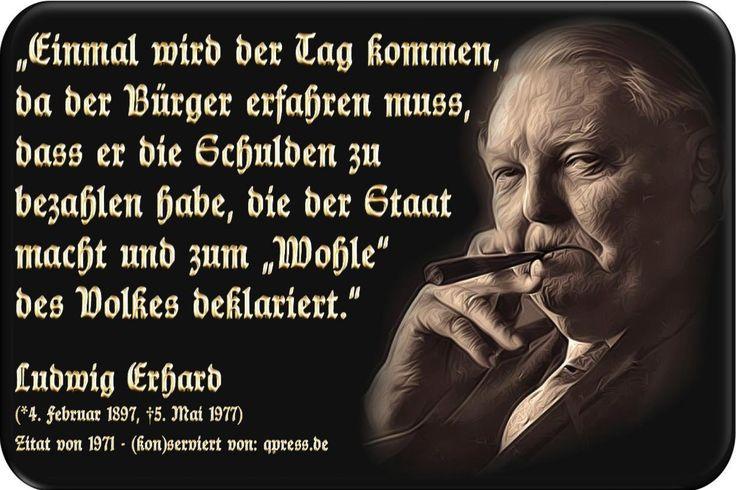 Ludwig Erhard Politik Schulden