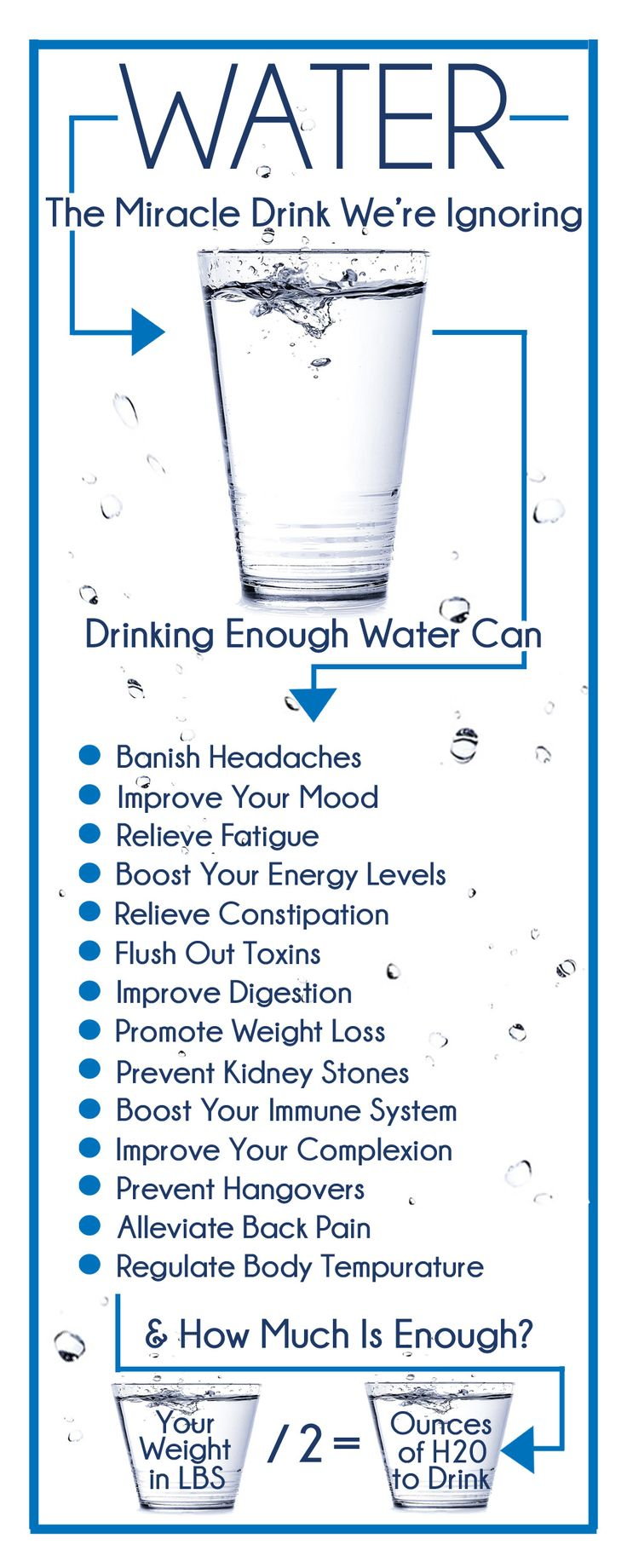 Do you drink enough water? It's SO IMPORTANT to your health. Learn about the benefits of water and how to drink more water!