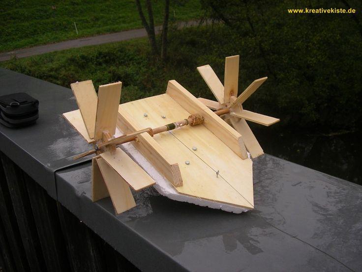Boot mit Eigenantrieb bauen