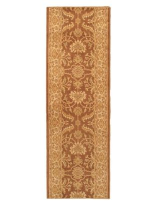-29,700% OFF Lotus Garden Traditional Rug, Brown, 2' 8