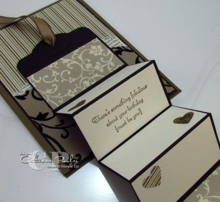 Stampin' Up Moving Card Fancy Folds