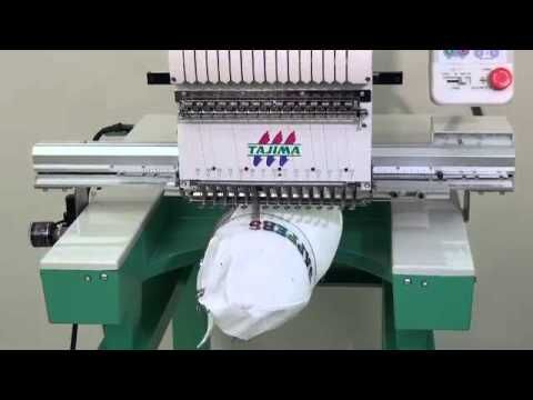 "Tajima Embroidery Machine TEJTII-C ""NEO"" series - YouTube"