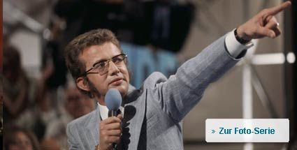 """Zehn Jahre ohne """"ZDF-Hitparade"""". Dieter Thomas Heck moderierte die """"ZDF-Hitparade"""" von 1969 bis 1984. (Foto: Allstar)"""