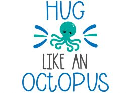 Hug like an octopus Free SVG files - Summer | <a href=