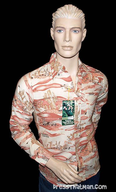 Lou Graham Golfer 70's shirt - YES seriously.