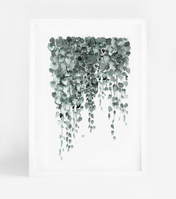 Leden - Falling leaves A3