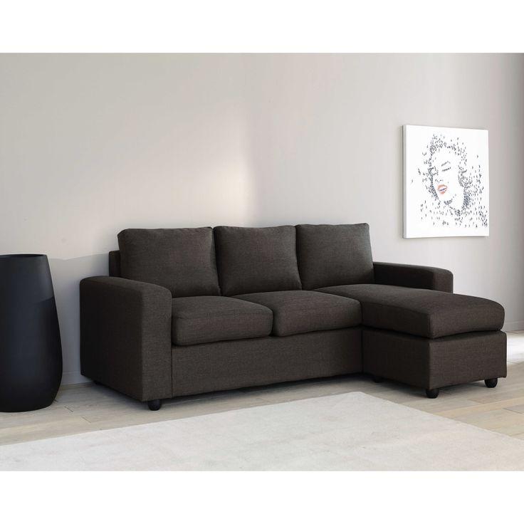 17 migliori idee su arredamento con divano nero su. Black Bedroom Furniture Sets. Home Design Ideas