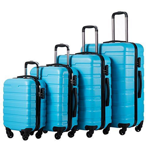 New Trending Luggage: Coolife Luggage 4 Piece Set Hard shell Lightweight Suitcase (family set-sky blue). Coolife Luggage 4 Piece Set Hard shell Lightweight Suitcase (family set-sky blue)   Special Offer: $149.99      388 Reviews Coolife luggage set – We wish you a pleasant experience with your new suitcase from Coolife®! This 3 piece suitcase set features one 28inch suitcase, one 24inch...