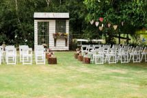Ceremony isle backdrop - Our rustic DIY backyard wedding - Mornington Peninsula - by Ink Hearts Paper www.inkheartspaper.com.au