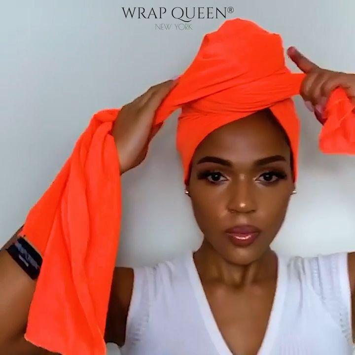 Fire Orange – Wrap Queen