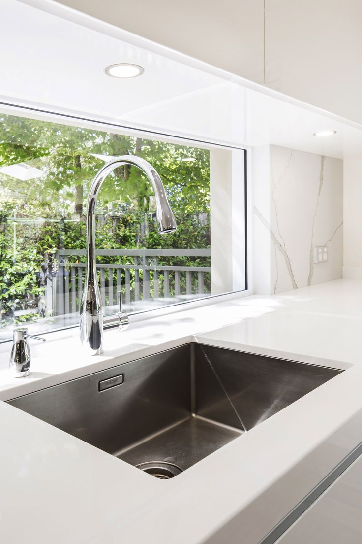 KWC tap and Franke undermount sink.  Wahroonga Project.