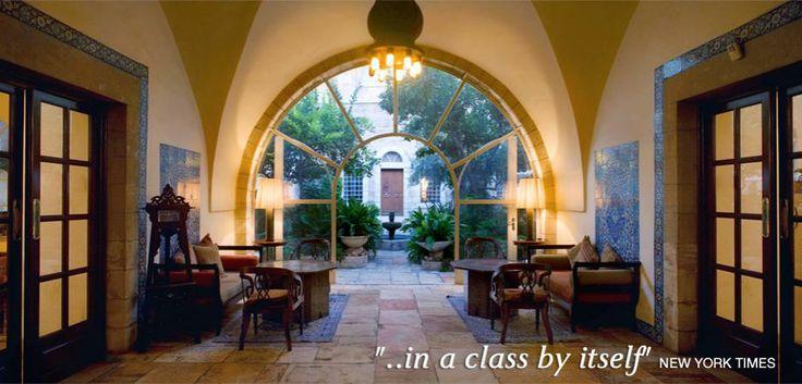 The American Colony hotel 5* Jerusalem, membre LHW